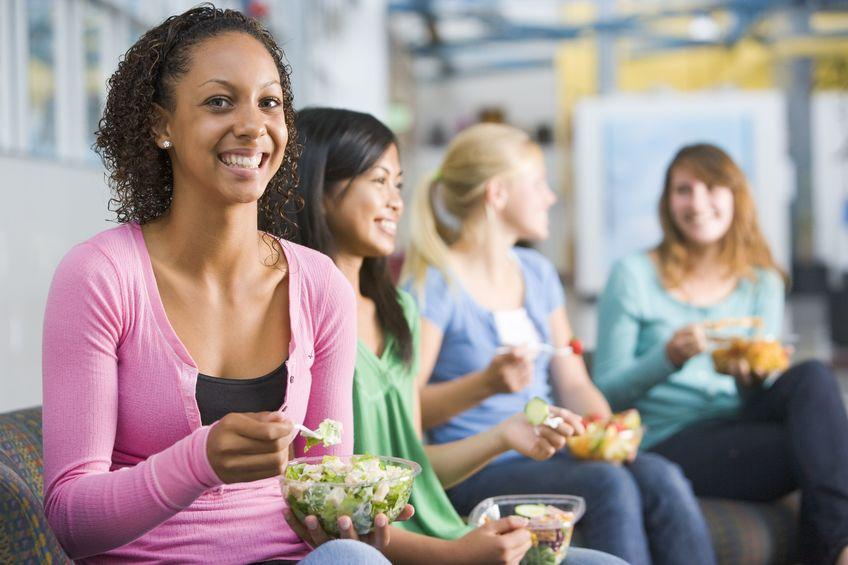 alimentación estudiantes universidad